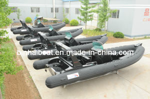 Inflatable Boat with CE PVC / Hypalon Fabric (RIB-730B)
