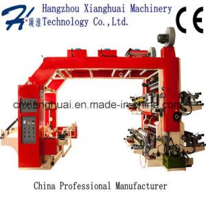 Multi Colour 4 Colour Paper Bag Flexographic Printing Machine