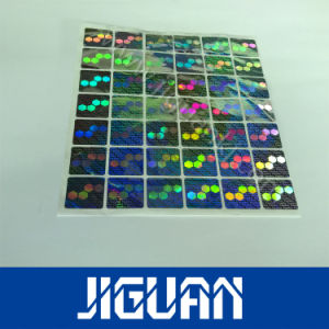 High Quality Transparent Security Hologram Stickers pictures & photos