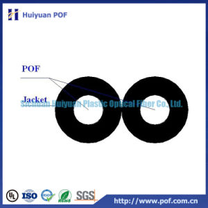 Plastic Optical Fiber Cable -Duplex Cable (DC2-1000) pictures & photos