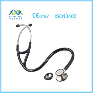 Maney Medical Dual Head Stethoscope Approved with Ce Certification pictures & photos