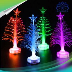 Led Fiber Optic Christmas Trees.Flashing Colorful Changing Led Lighting Christmas Tree Mini Fiber Optic Light For Christmas Home Decoration