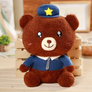 Low Price Gifts Kids Plush Bear Soft Toys Custom Logo Teddy Bear with Hat and Clothes Wholesale Price