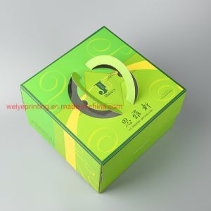 Custom Printing Corrugate Paper Promotion Cake Packaging Box