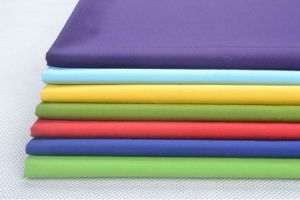 High Quality 100% Polyester Poplin Fabric for Garment pictures & photos