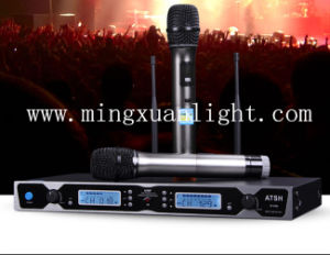 Handheld DC-38 Wireless Microphone System Karaoke Microphone pictures & photos