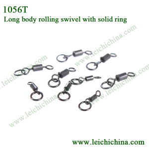 Fishing Long Body Rolling Swivel with Solid Ring pictures & photos