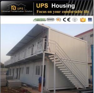 Earthquake Proof Prefabricated Living Container Houses for Classroom pictures & photos