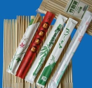 Nature Bamboo Chopsticks Bulk Engrave Chopstick pictures & photos
