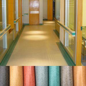 PVC Floor Covering Indoor Marble Vinyl Roll Plastic Flooring