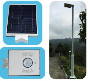 &⪞ Apdot; 0W Integerated Solar LED Light with APP Fun⪞ Tion pictures & photos