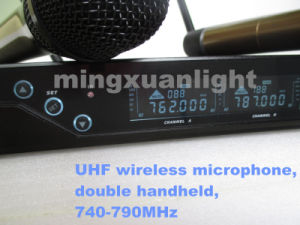 Cheaper Dual Handheld Wireless Microphone (DC-Two) pictures & photos