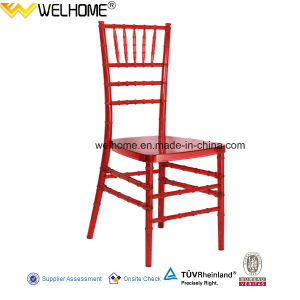 Red Color Resin Chiavari Chair for Wedding/Party/Event pictures & photos