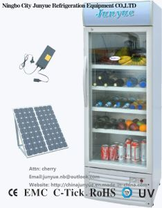 DC 12V 24V Solar Display Cupboard Refrigerator Sc-258L pictures & photos