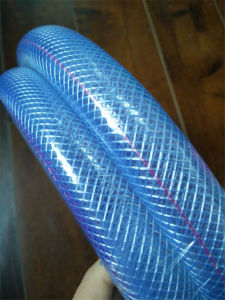 Non-Smell Good Quality Fiber Braid Reinforcement PVC Hose pictures & photos