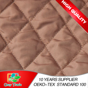 3 Layer Chiffon or Satin Quilting Embroidery Fabric for Bags, Mattress, Padding, Winter Cloth, Shoes pictures & photos