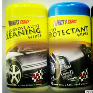 Customized Logo Auto Cars Care Wet Wipes