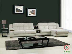 Genuine Leather Corner Sofa Recliner