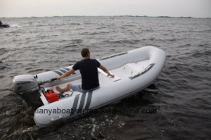 Liya 8 Feet to 14 Feet Inflatable Rib Boat Outboard Engine pictures & photos