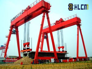 Gantry Crane for Girder Elevate (QLM-13) pictures & photos