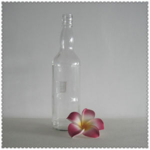 750ml Glass Whisky Bottle pictures & photos