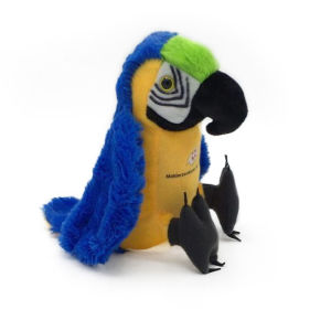 Custom Made Super Soft Stuffed Toy Plush Parrot