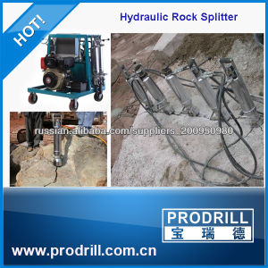 Prodrill Most Safest Hydraulic Concrete Splitter for Removing Mass pictures & photos