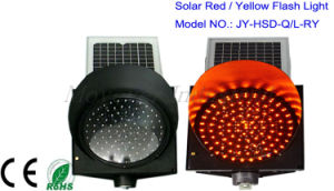 300 mm Plastic Solar Flashing Light pictures & photos