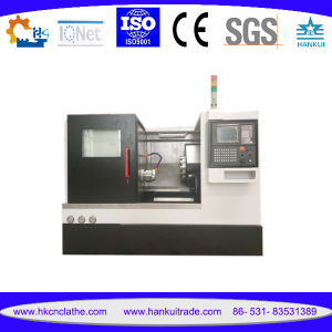 Ck40L CNC Horizontal Turning Center with Slant Bed Guideway pictures & photos