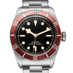 Tudorrrr Brand Limited Automatic Movment Stainless Steel Brand Black Big Dial 40mm Mens Sport Watch Wristwatch R Watches