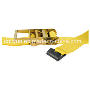 Expert Manufacturer of Ratchet Strap / Cargo Lashing Control/ Ratchet Tie Down Strap with Flat Hook