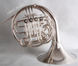 French Horn /4-Key Double French Horn (FH-42N) pictures & photos