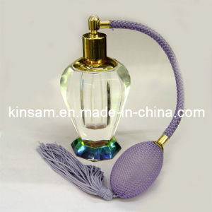 Islamic Crystal Glass Perfume Bottle for Gift pictures & photos