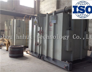 Split Mobile 800 Kw Bell Type Electrical Resistance Furnace with Parts Normalizing