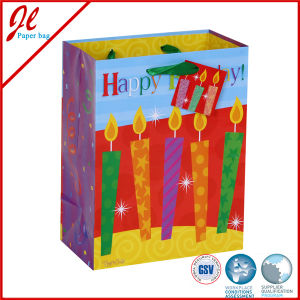 Fancy Gift Paper Bags with Printing and Glitter High Quality Paper Bags, Birthday Gift Bag pictures & photos