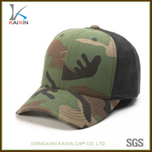 eea4edf4dfc China Custom Blank Camo Trucker Mesh Hat Sport Cap - China Trucker ...