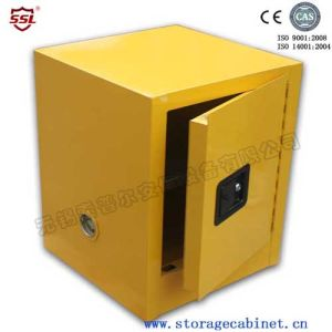 Industrial Hazardous Material Justrite Flammable Liquid Chemical Storage  Cabinets With Doors / 1 Shelf