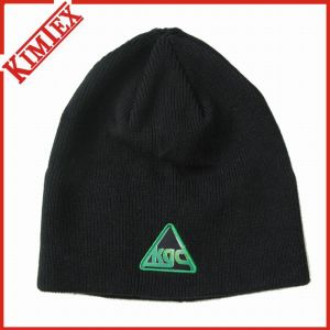 100% Cotton Fancy Embroidery Promotion Beanie Hat ( pictures & photos