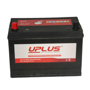 N70 12V Lead Acid Maintenance Free Battery Rechargeable Auto Battery pictures & photos