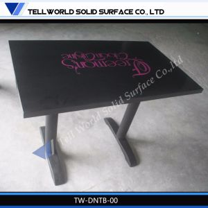 2014 Hot Sale Solid Surface Dining Table/Coffee Table/Restaurant Table pictures & photos