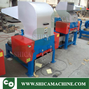 Plastic Crusher with Conveyor and Cyclone System pictures & photos