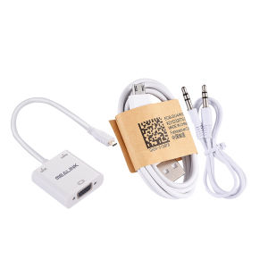 Mealink Mini Hdm (HDMI Type-C) to VGA+Audio Adapter pictures & photos