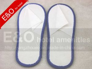 Cheap Disposable EVA Non-Woven Slippers with Sponge Sole pictures & photos