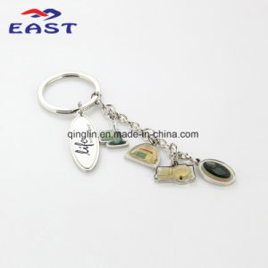 Personalized Fashion Epoxy Metal Key Chain
