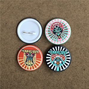 Tin Button Badge Factory with OEM Design (BBG-05) pictures & photos
