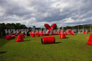 Whole Set Inflatable Inflatable Paintball for Adults/ Paintball Bunker for Sport Game K8001 pictures & photos