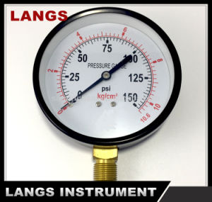 068 100mm Standard Dry Pressure Gauge pictures & photos
