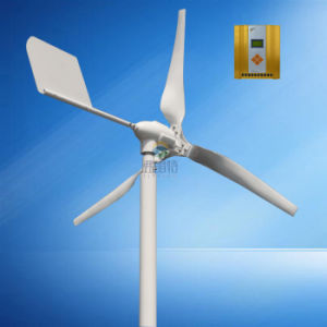 0 6kw Wind Power Generator with 12V 24V Auto MPPT Controller