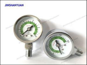Gpg-004 Reduce Pressure for General Pressure Gauge/Regulator Double Gauge/Manometer pictures & photos