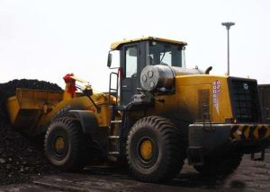 Electrohydraulic Transmission Wheel Loader (6 Ton Rated Weight) pictures & photos